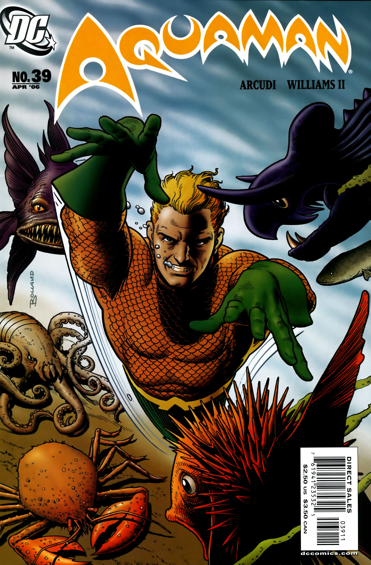 Read online Aquaman (2003) comic -  Issue #39 - 1