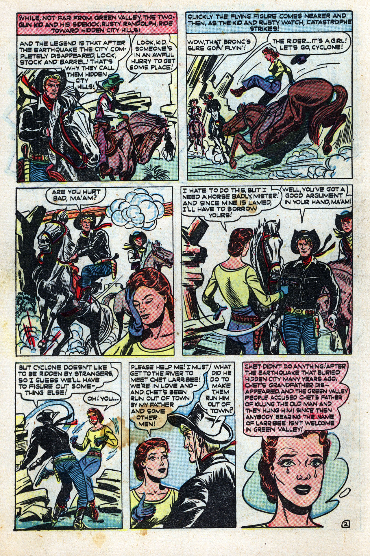 Read online Two-Gun Kid comic -  Issue #10 - 4