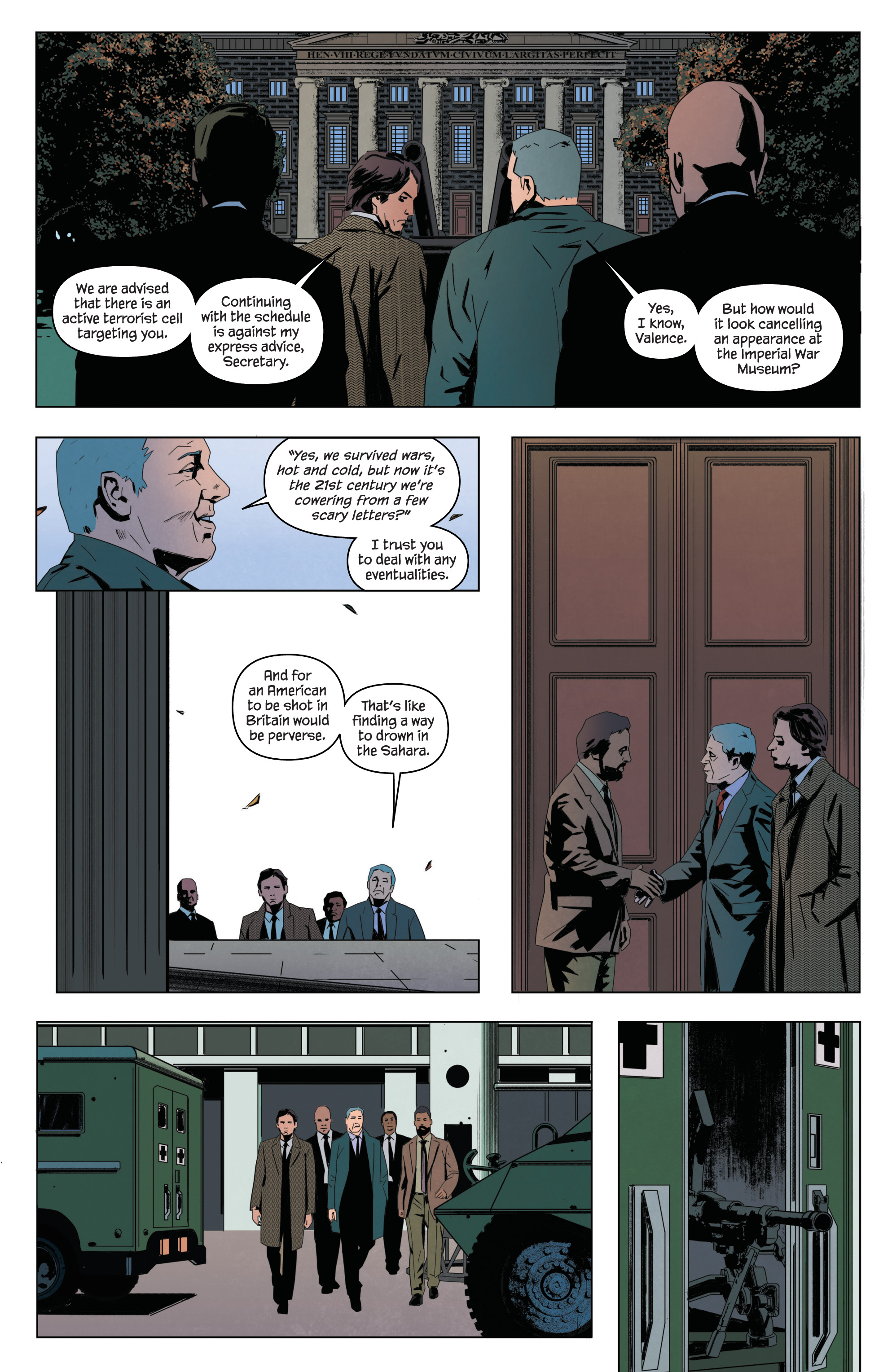 Read online James Bond: Service comic -  Issue # Full - 27