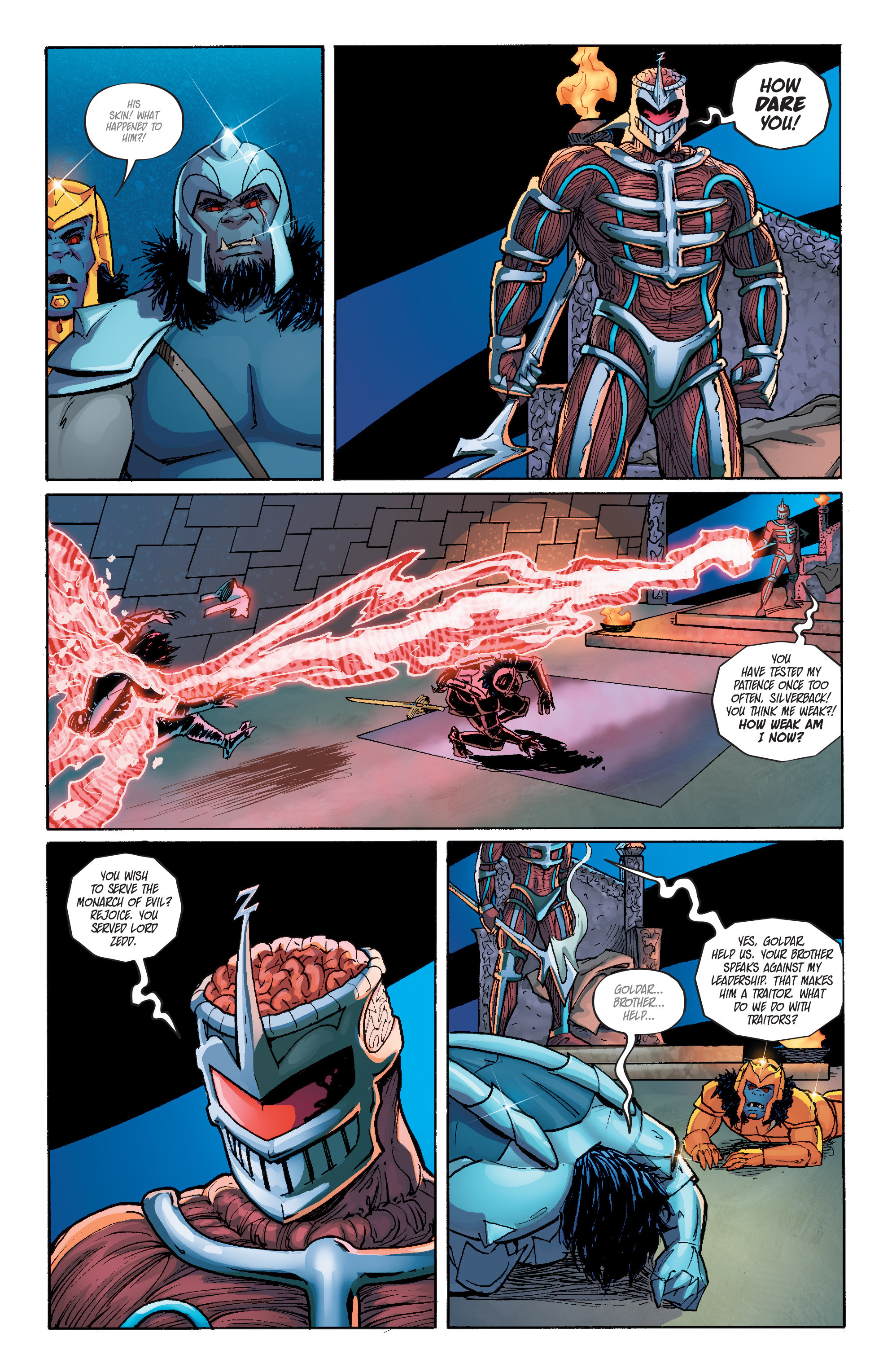 Read online Mighty Morphin Power Rangers comic -  Issue # _Annual 1 - 28