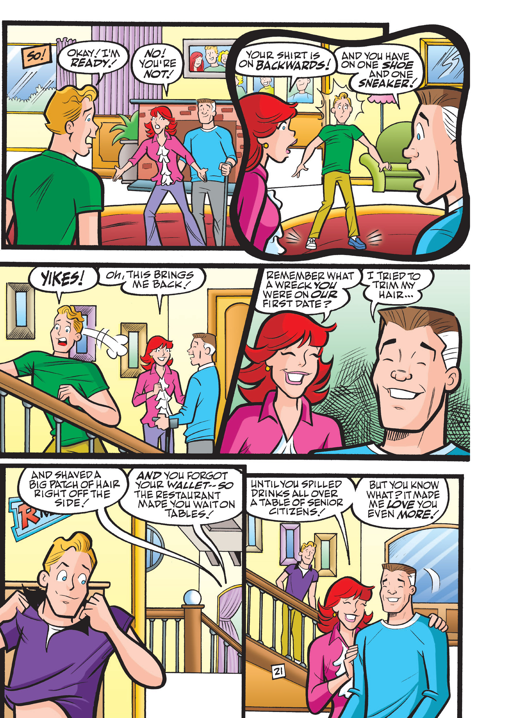Read online Archie 75th Anniversary Digest comic -  Issue #1 - 167