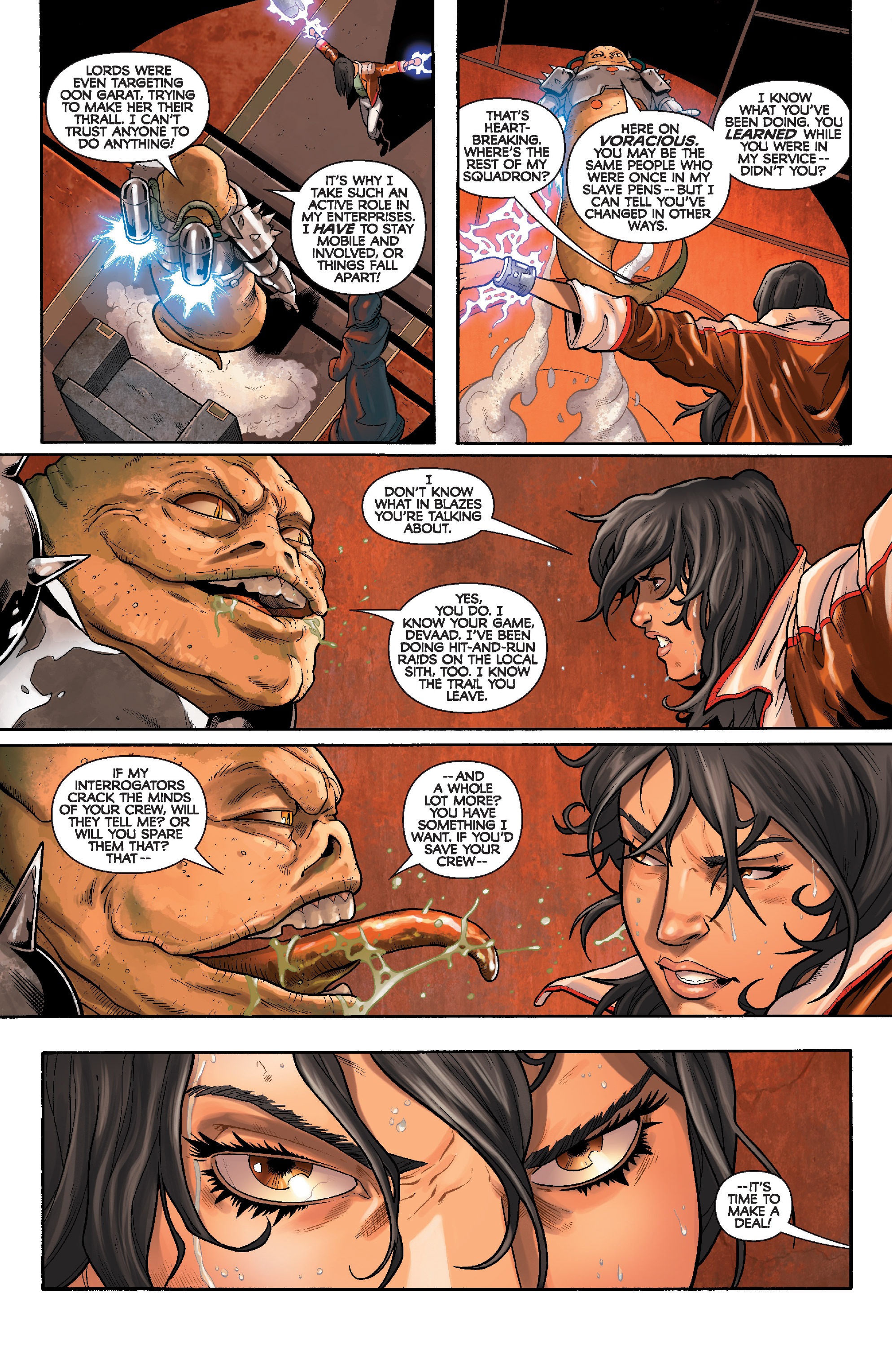 Read online Star Wars: Knight Errant - Deluge comic -  Issue #3 - 12