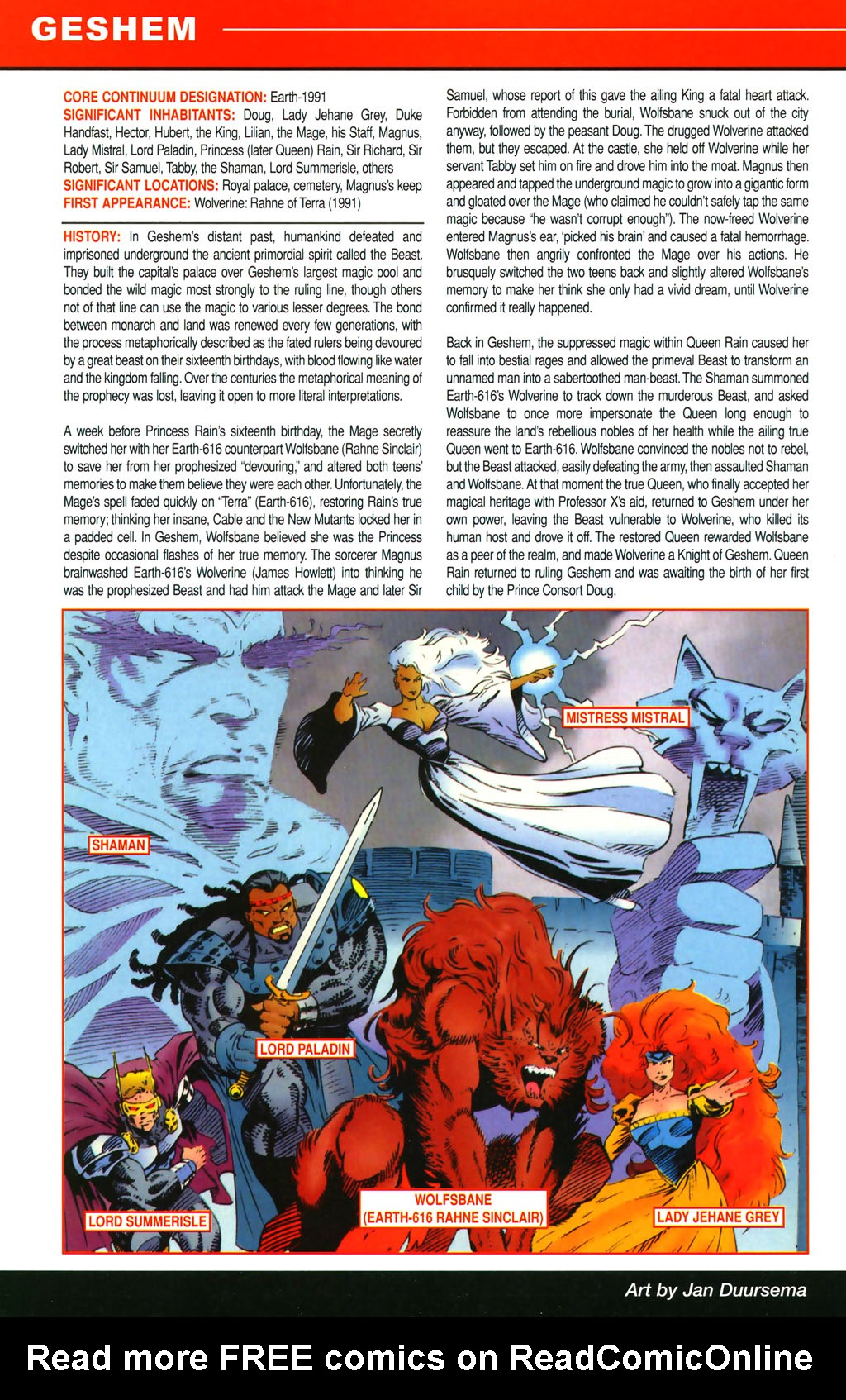 Read online All-New Official Handbook of the Marvel Universe A to Z comic -  Issue #4 - 58
