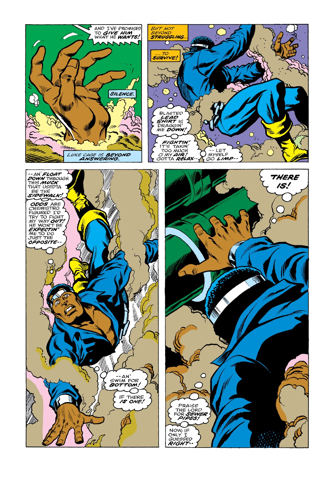 Read online Marvel Masterworks: Luke Cage, Power Man comic -  Issue # TPB 3 (Part 2) - 39