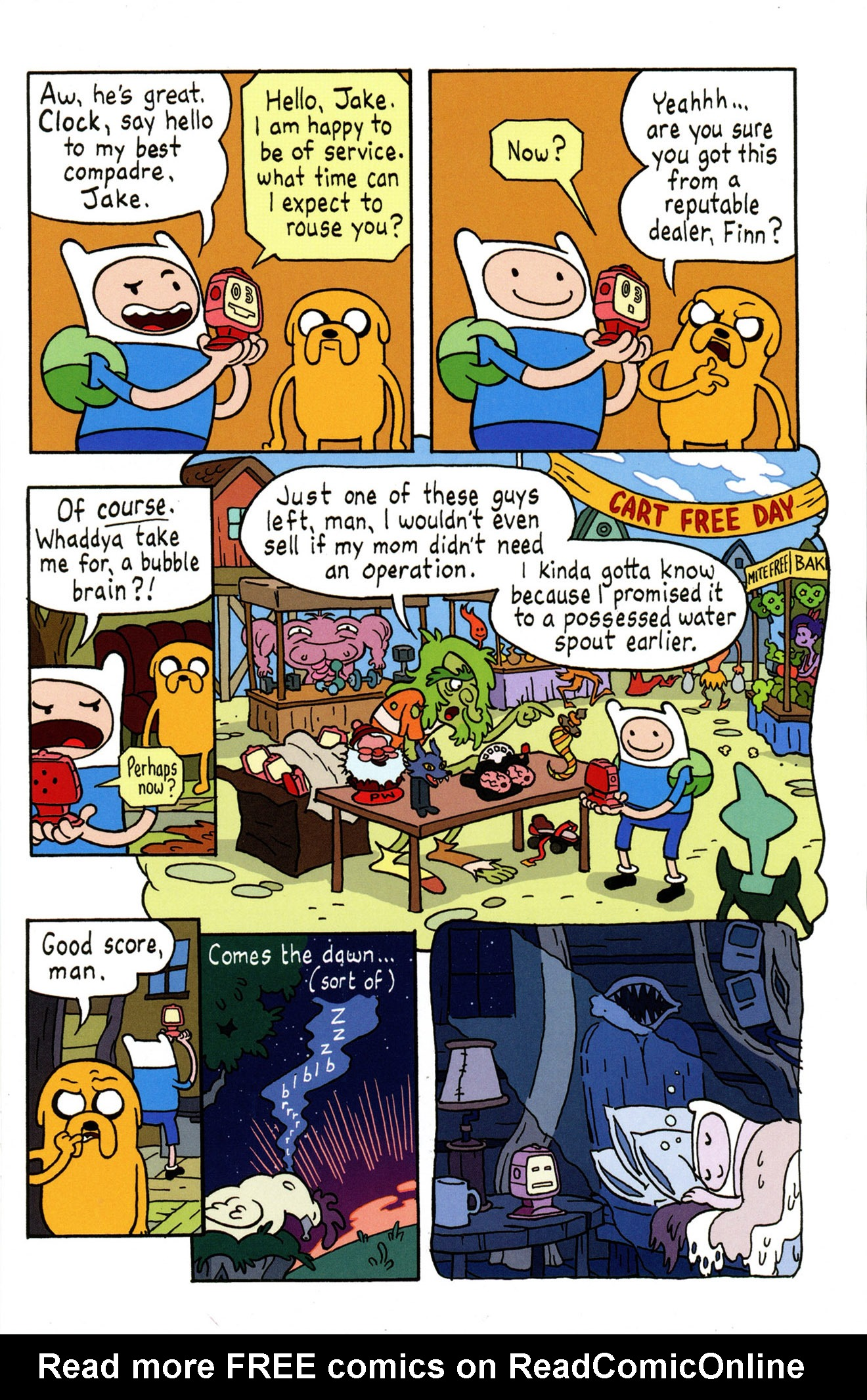 Read online Adventure Time Comics comic -  Issue #4 - 13