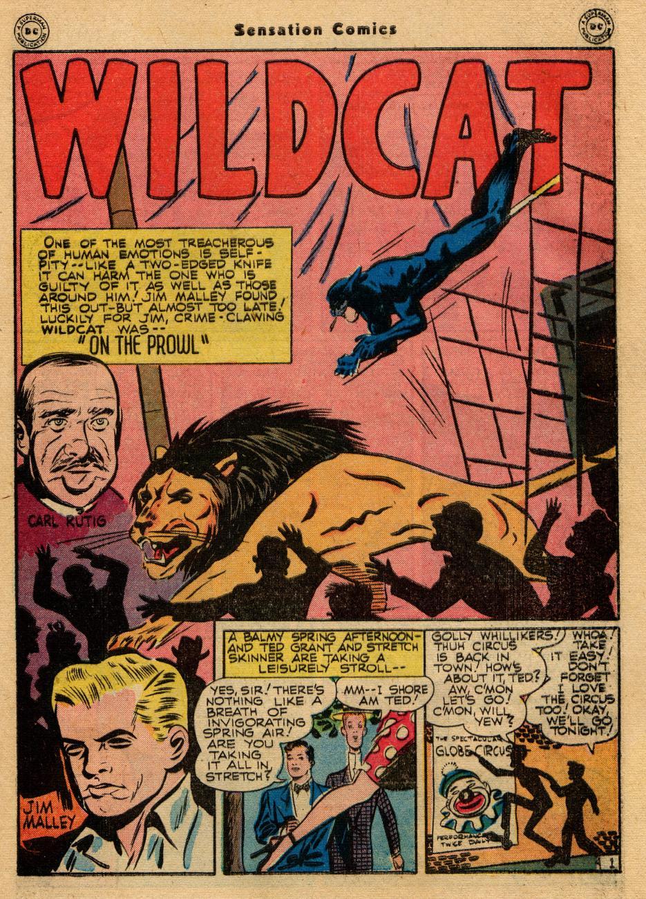 Read online Sensation (Mystery) Comics comic -  Issue #61 - 41