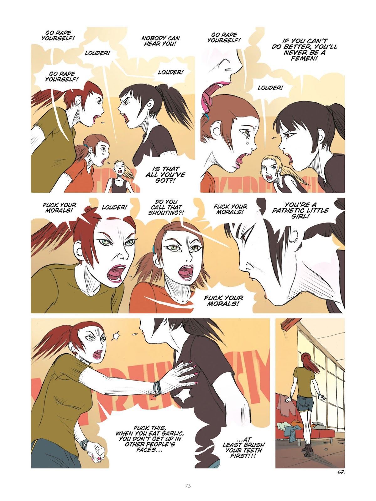 Read online Diary of A Femen comic -  Issue # TPB - 75