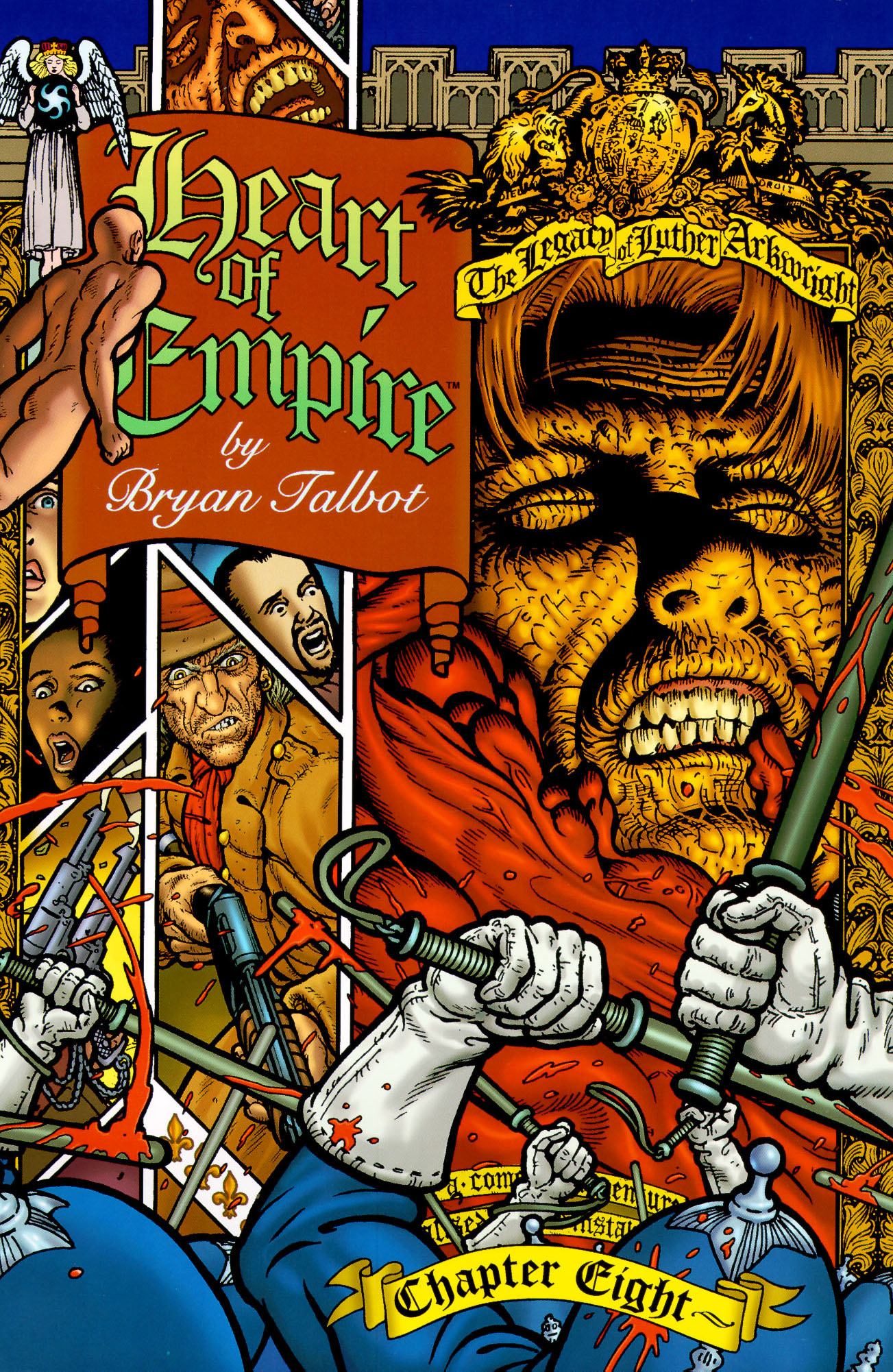 Read online Heart of Empire comic -  Issue #8 - 1