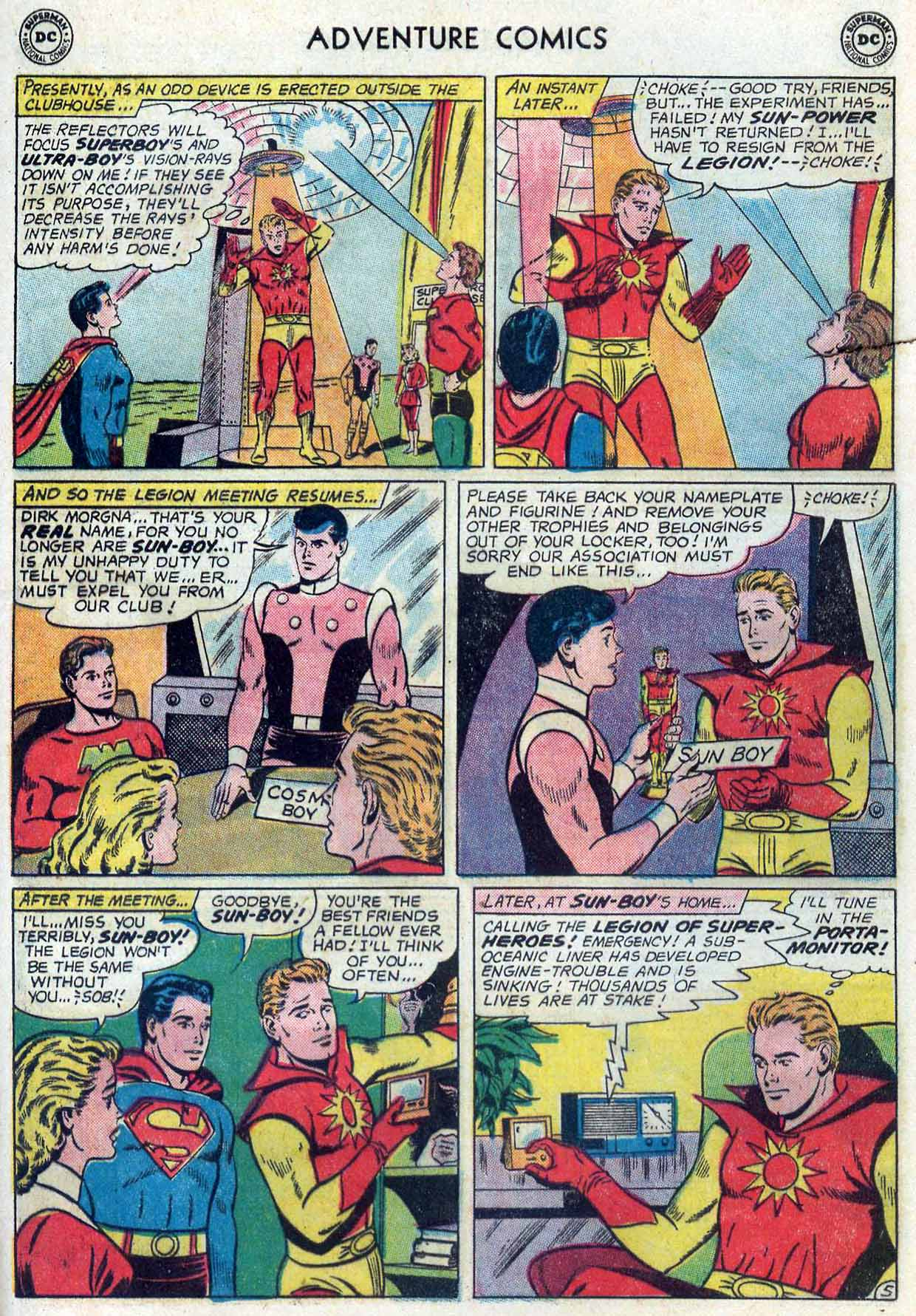 Read online Adventure Comics (1938) comic -  Issue #302 - 26