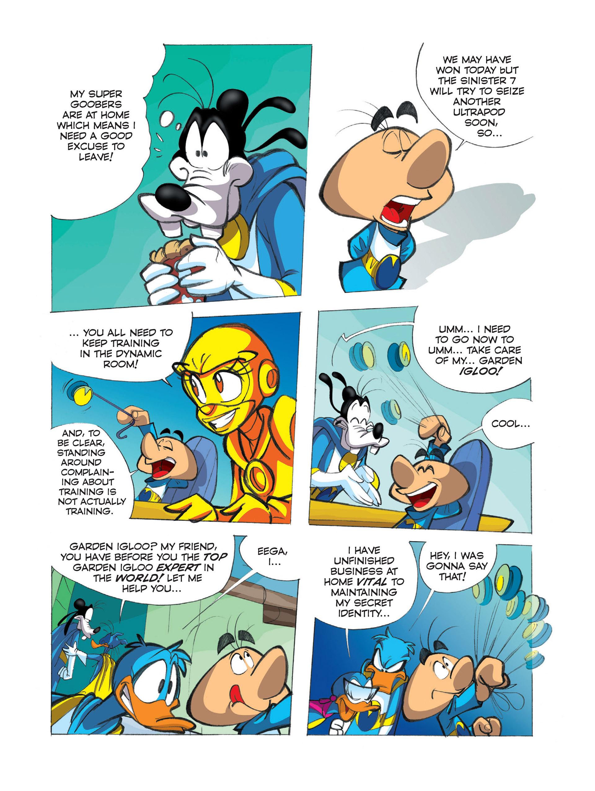 Read online Ultraheroes comic -  Issue #2 - 21
