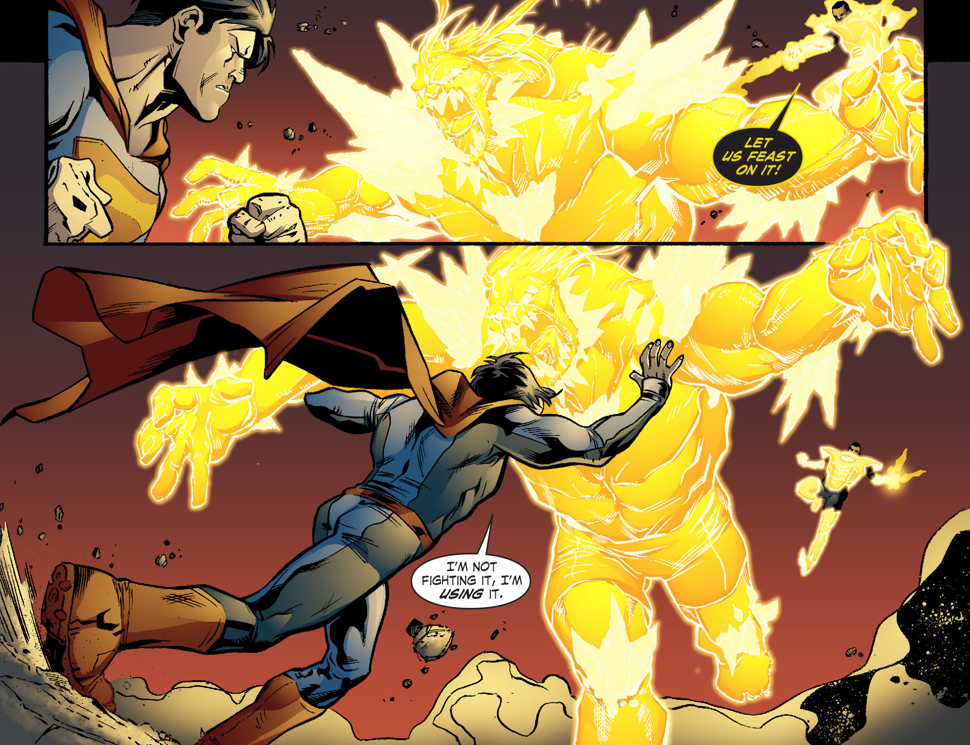 Read online Smallville: Lantern [I] comic -  Issue #10 - 14