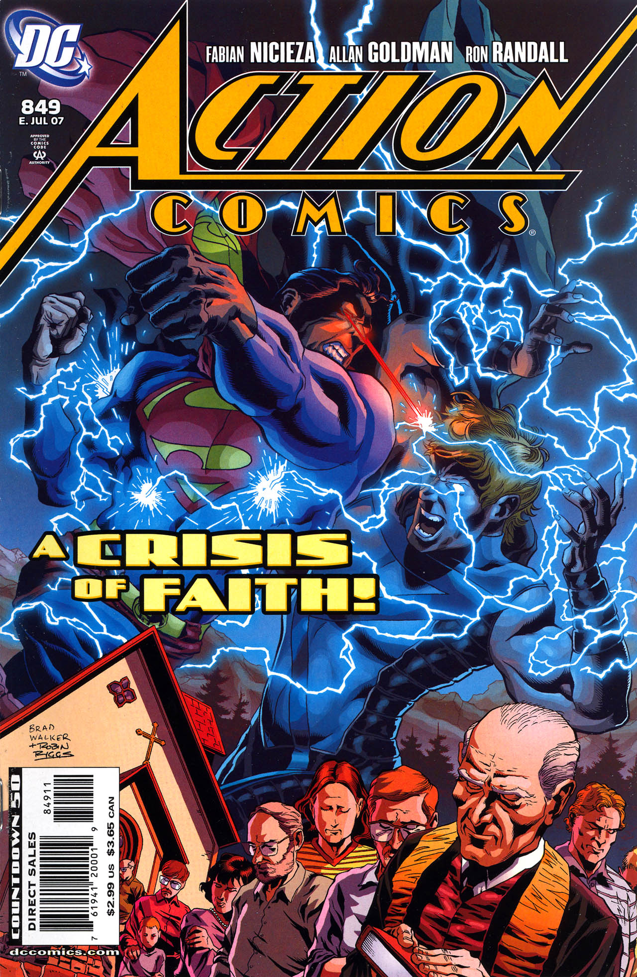 Read online Action Comics (1938) comic -  Issue #849 - 1