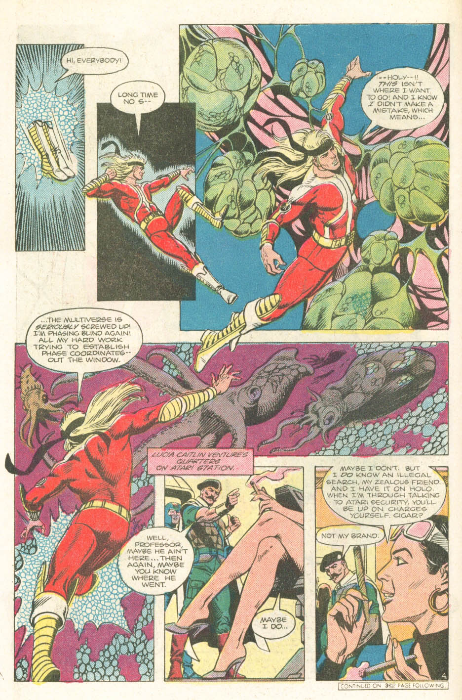 Read online Atari Force (1984) comic -  Issue #18 - 6