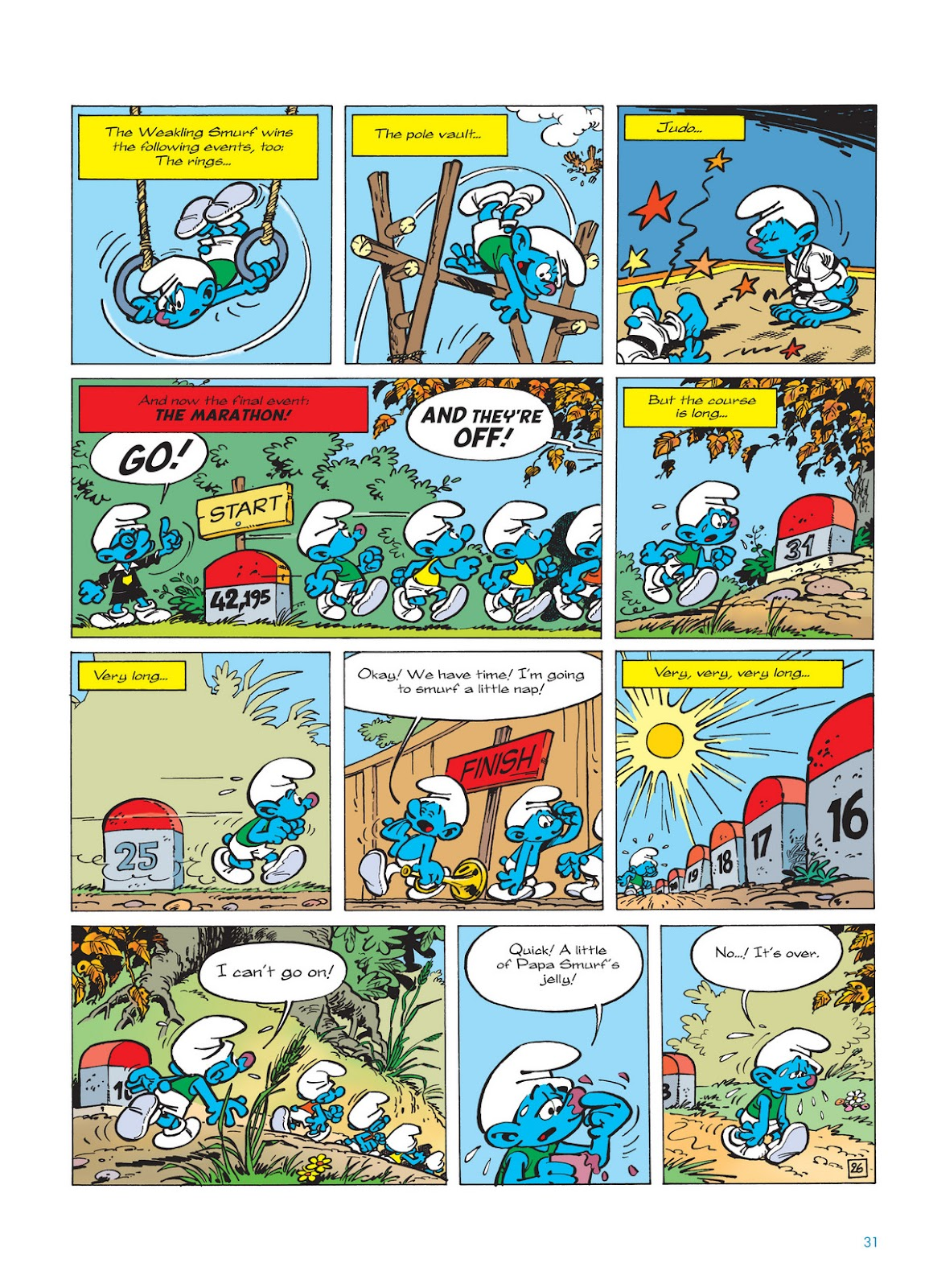 Read online The Smurfs comic -  Issue #11 - 31