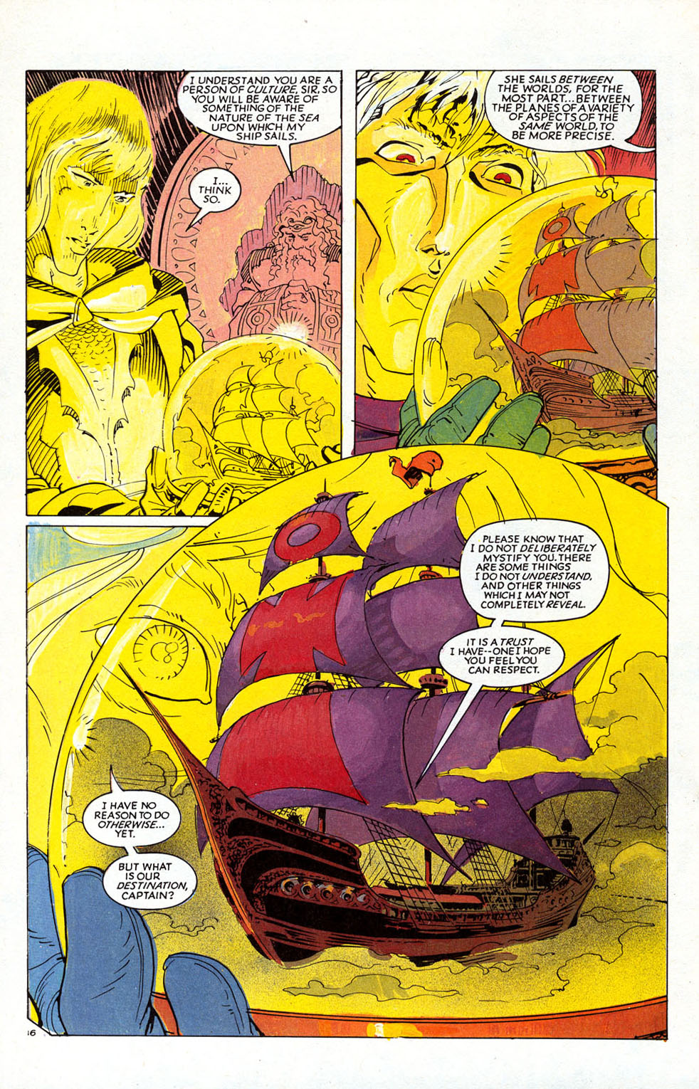 Read online Elric: Sailor on the Seas of Fate comic -  Issue #1 - 19