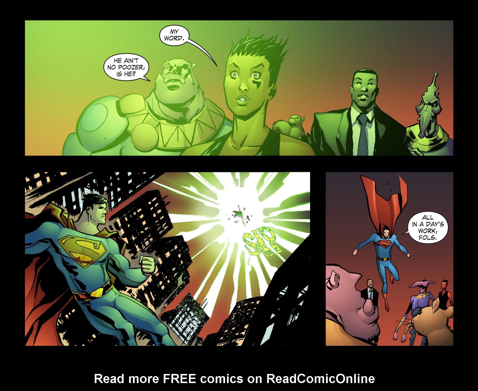 Read online Smallville: Lantern [I] comic -  Issue #12 - 12