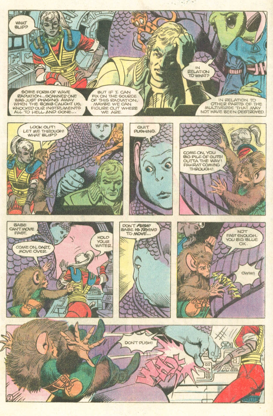 Read online Atari Force (1984) comic -  Issue #14 - 4