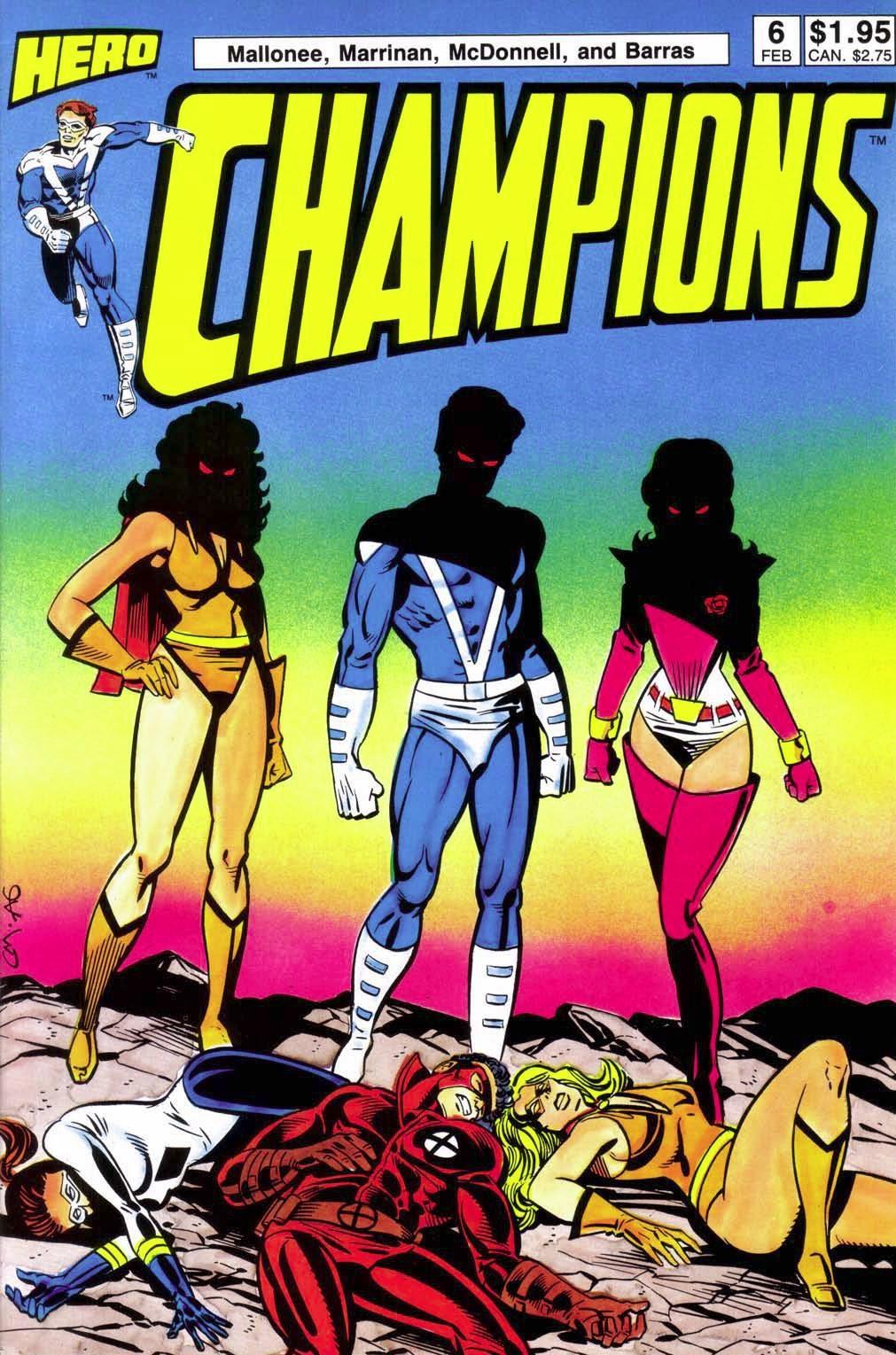 Champions (1987) 6 Page 1