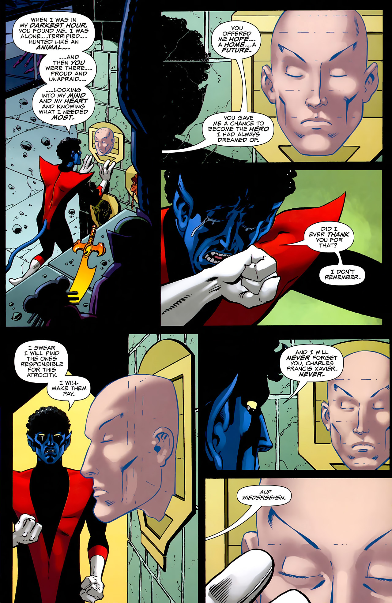 Read online Uncanny X-Men: First Class comic -  Issue #6 - 12