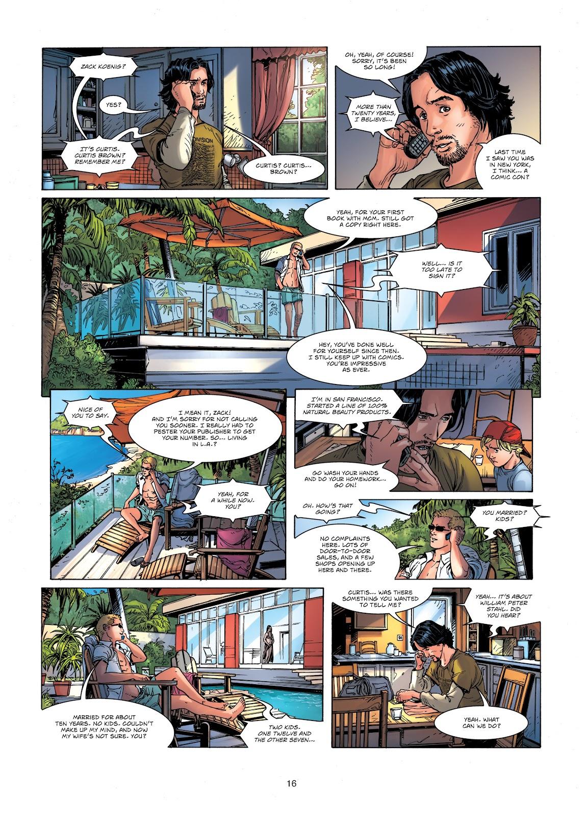 Read online Vigilantes comic -  Issue #1 - 16