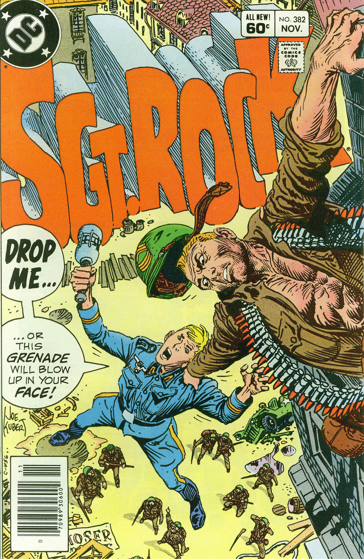 Read online Sgt. Rock comic -  Issue #382 - 1
