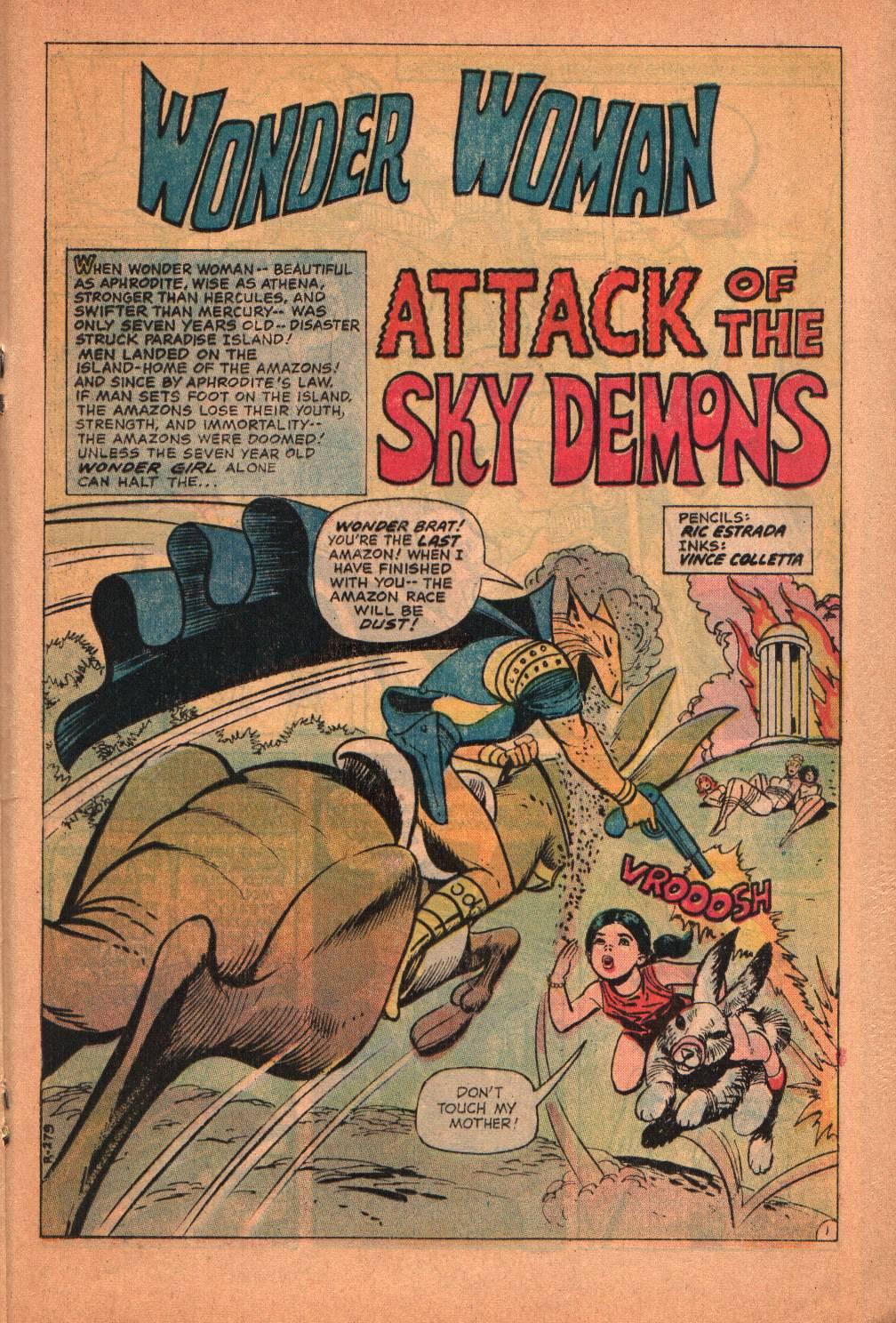 Read online Wonder Woman (1942) comic -  Issue #209 - 20