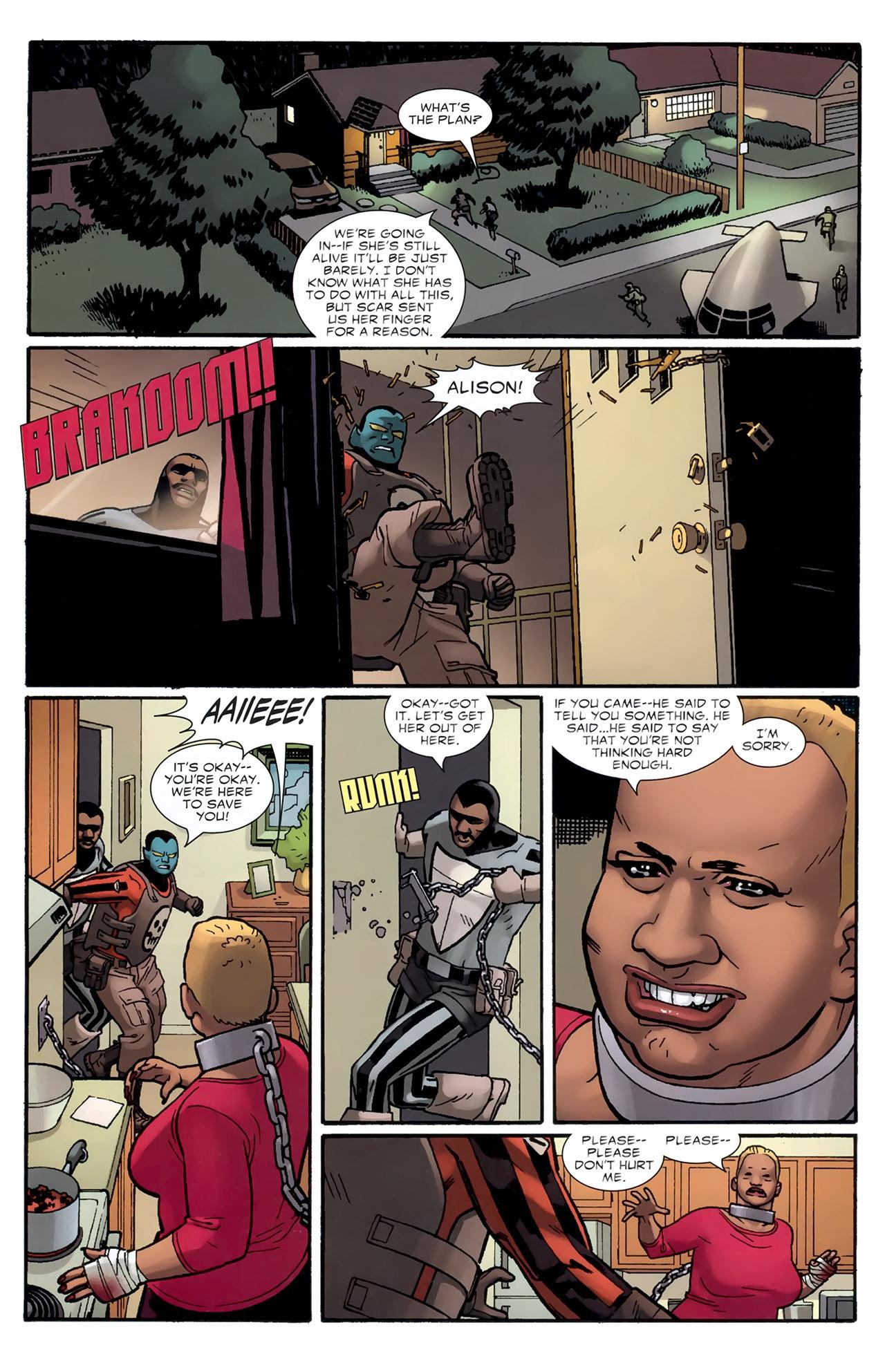 Read online Destroyer comic -  Issue #3 - 6