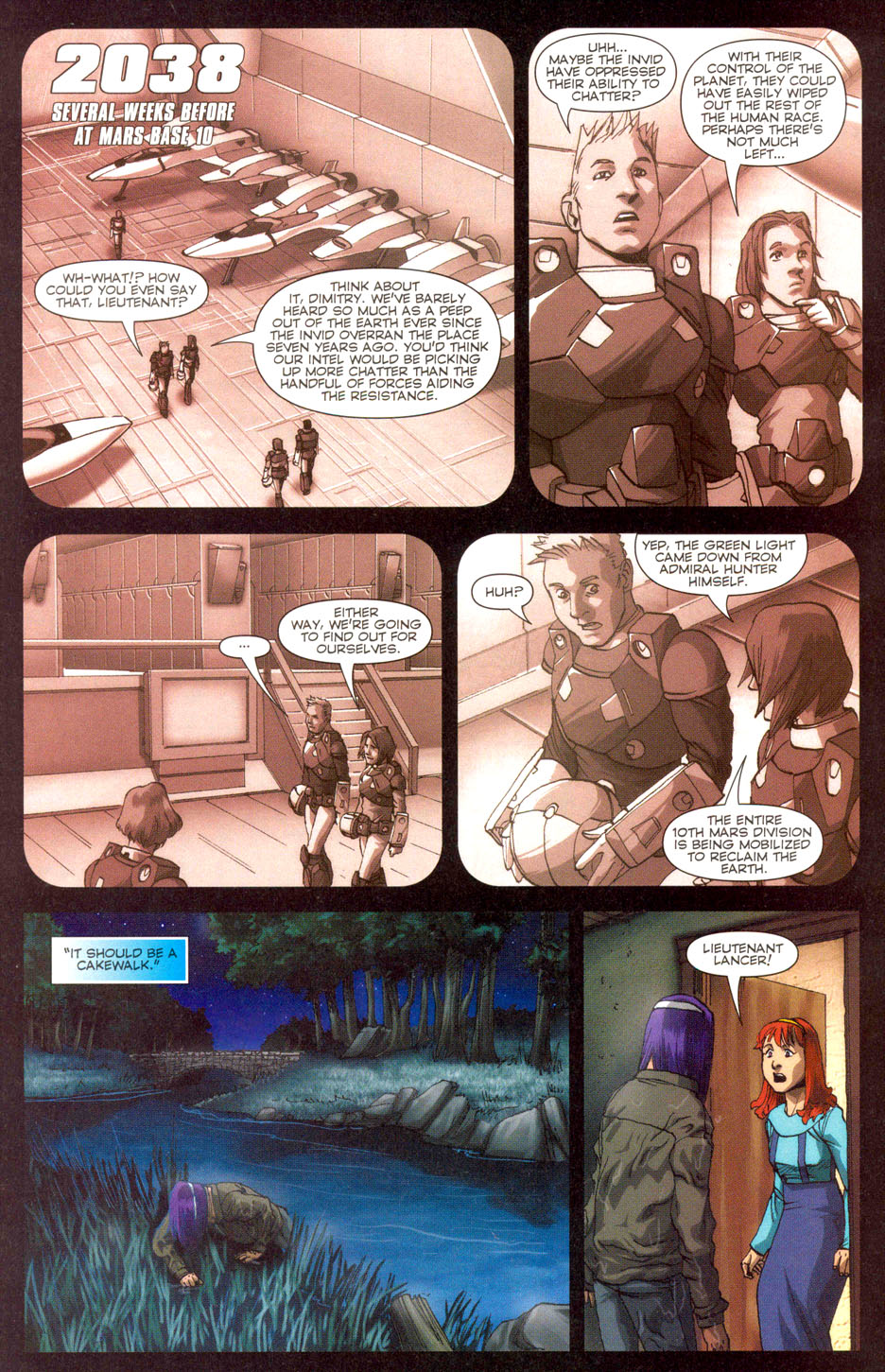 Read online Robotech: Invasion comic -  Issue #3 - 3