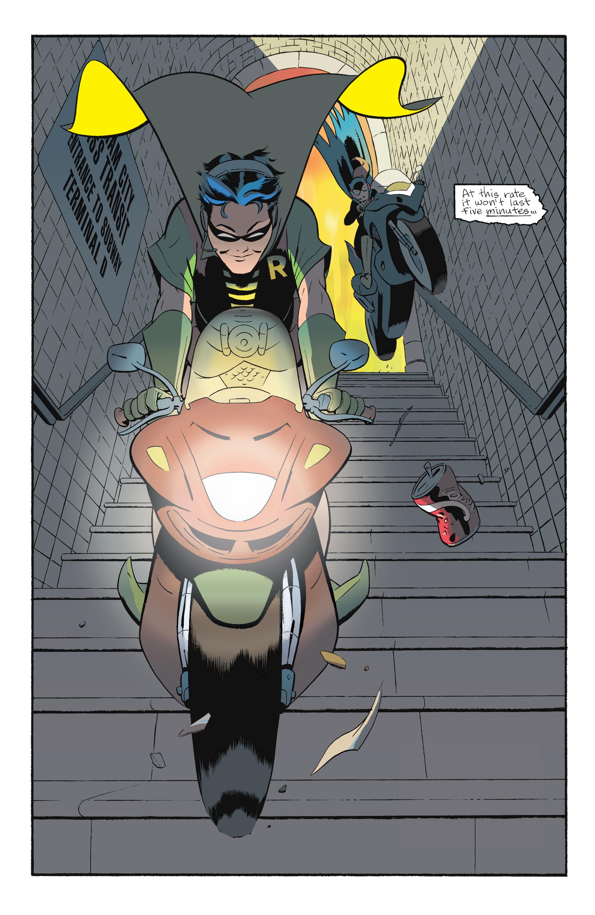 Read online Batgirl/Robin: Year One comic -  Issue # TPB 2 - 152