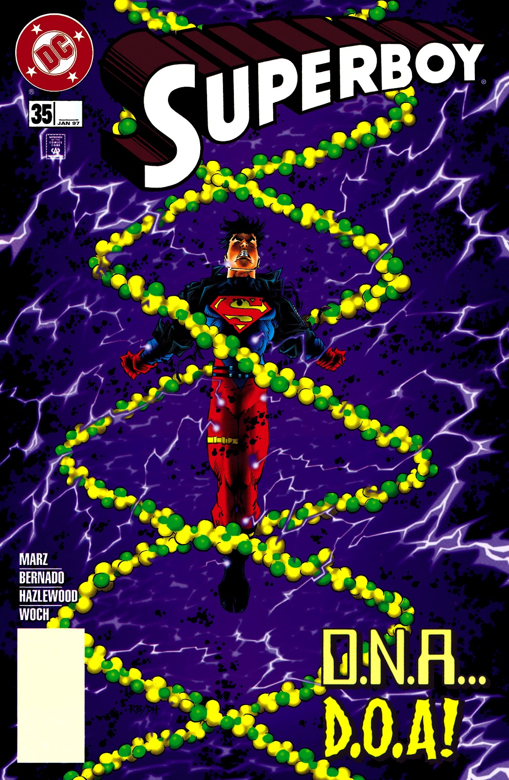 Superboy (1994) 35 Page 1