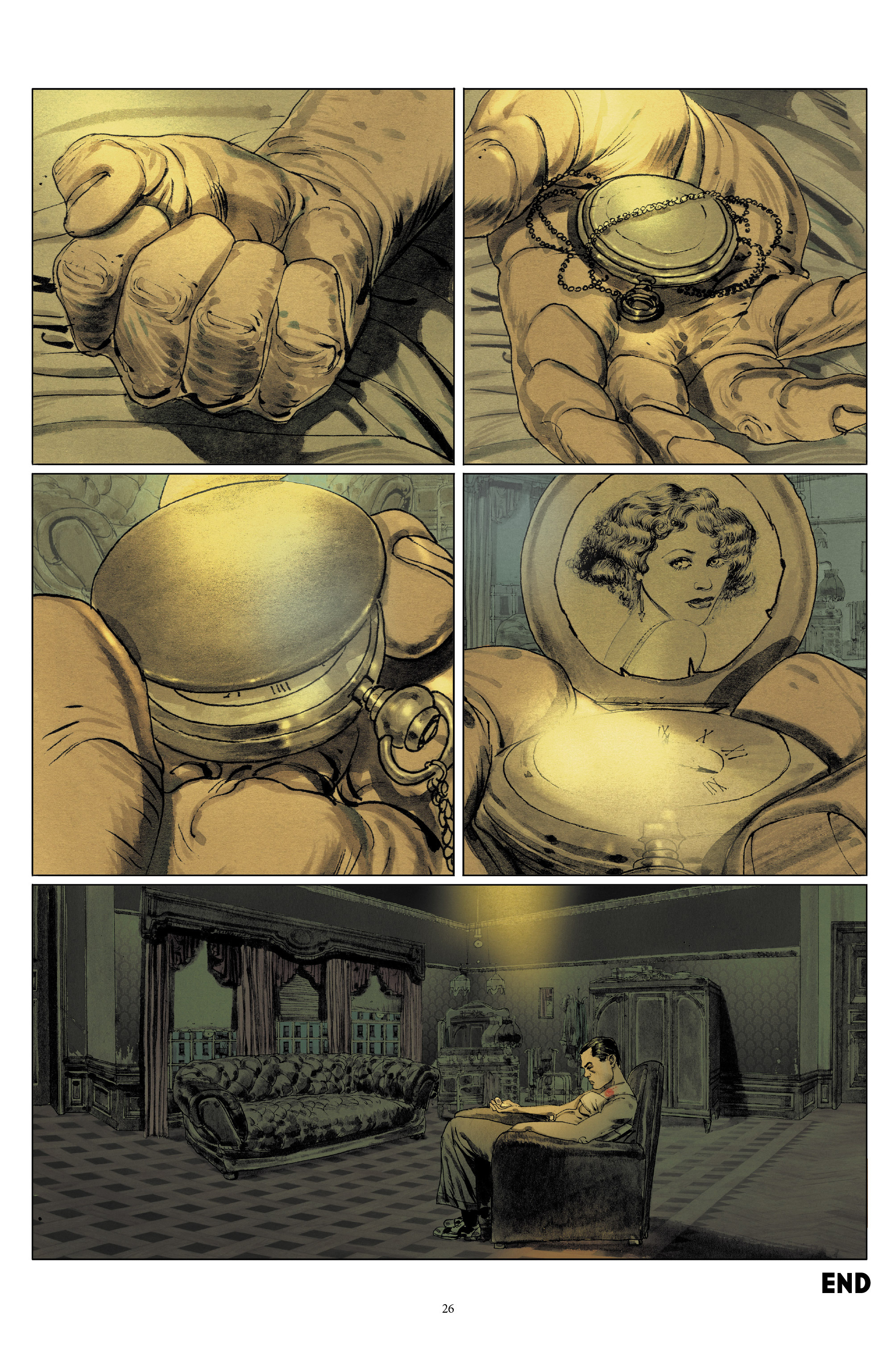 Read online Triggerman comic -  Issue #5 - 26