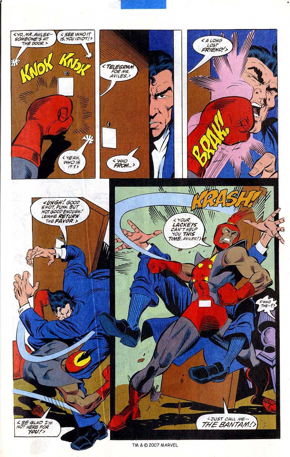 Read online Captain America (1968) comic -  Issue # _Annual 12 - 21