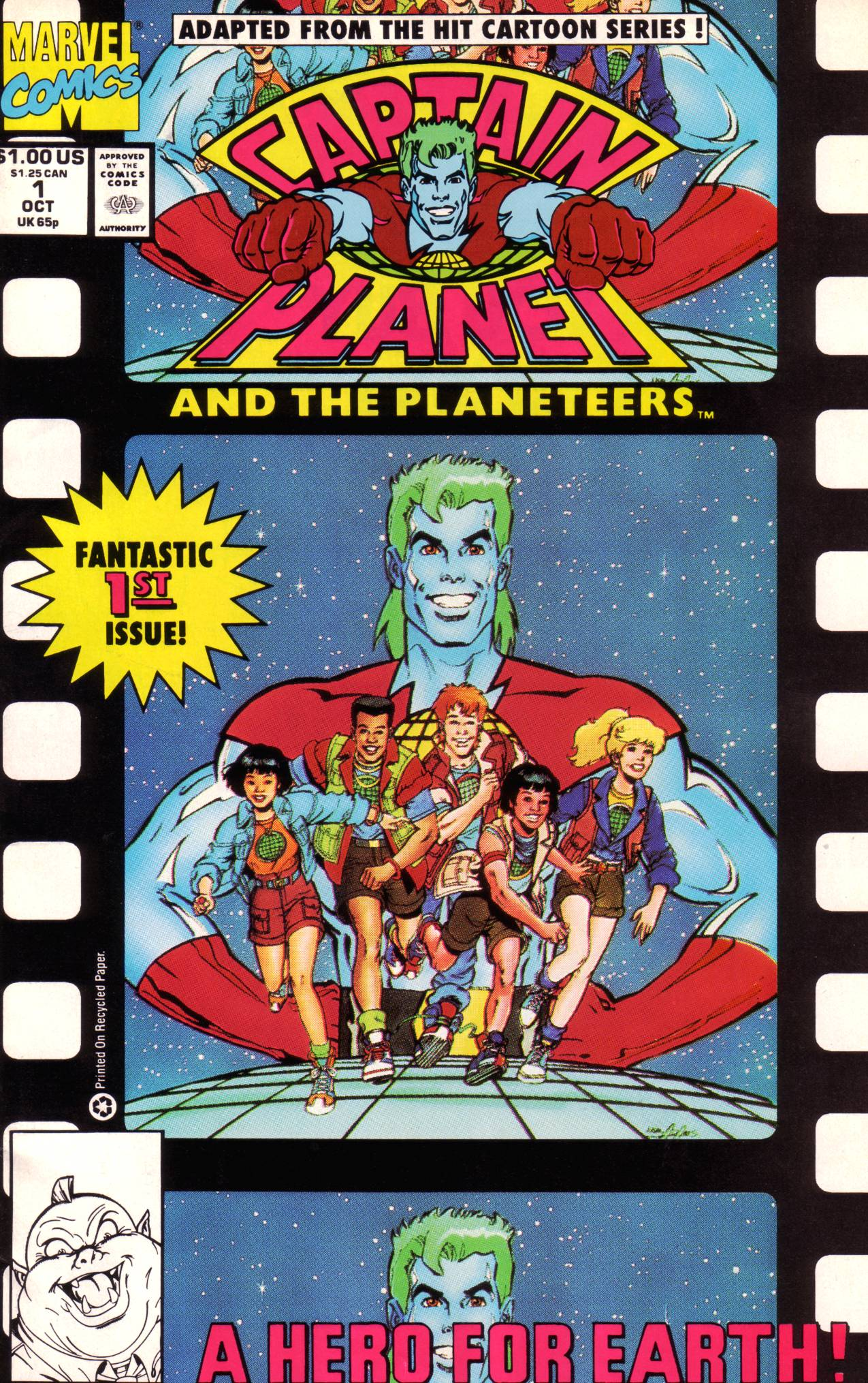Captain Planet and the Planeteers 1 Page 1