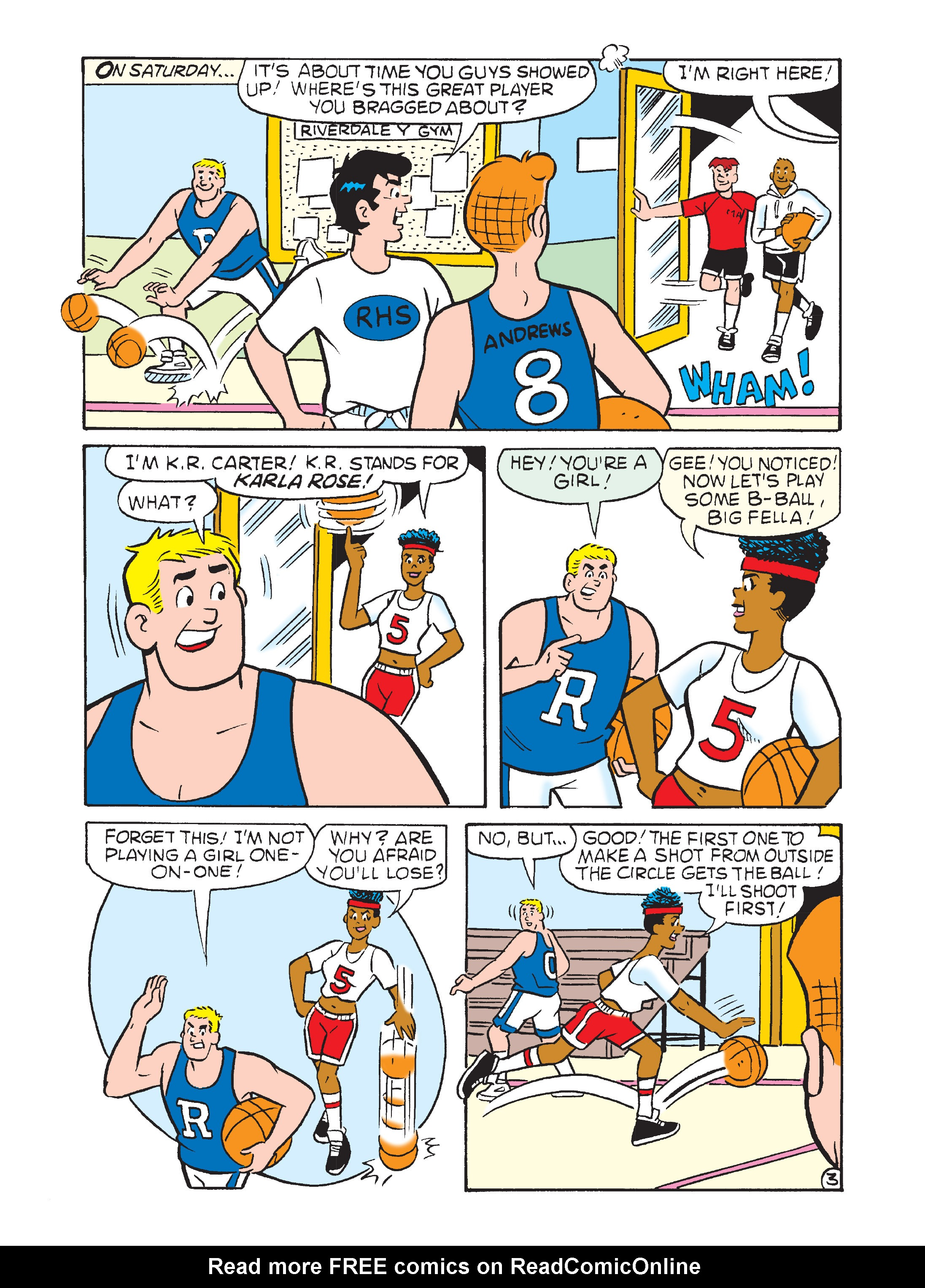 Read online Archie's Funhouse Double Digest comic -  Issue #12 - 76