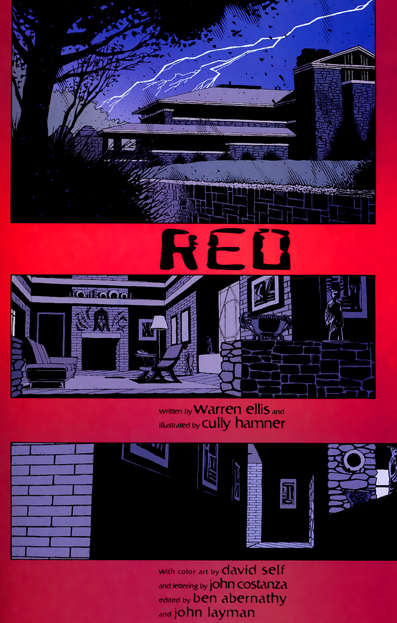 Read online Red comic -  Issue #1 - 7