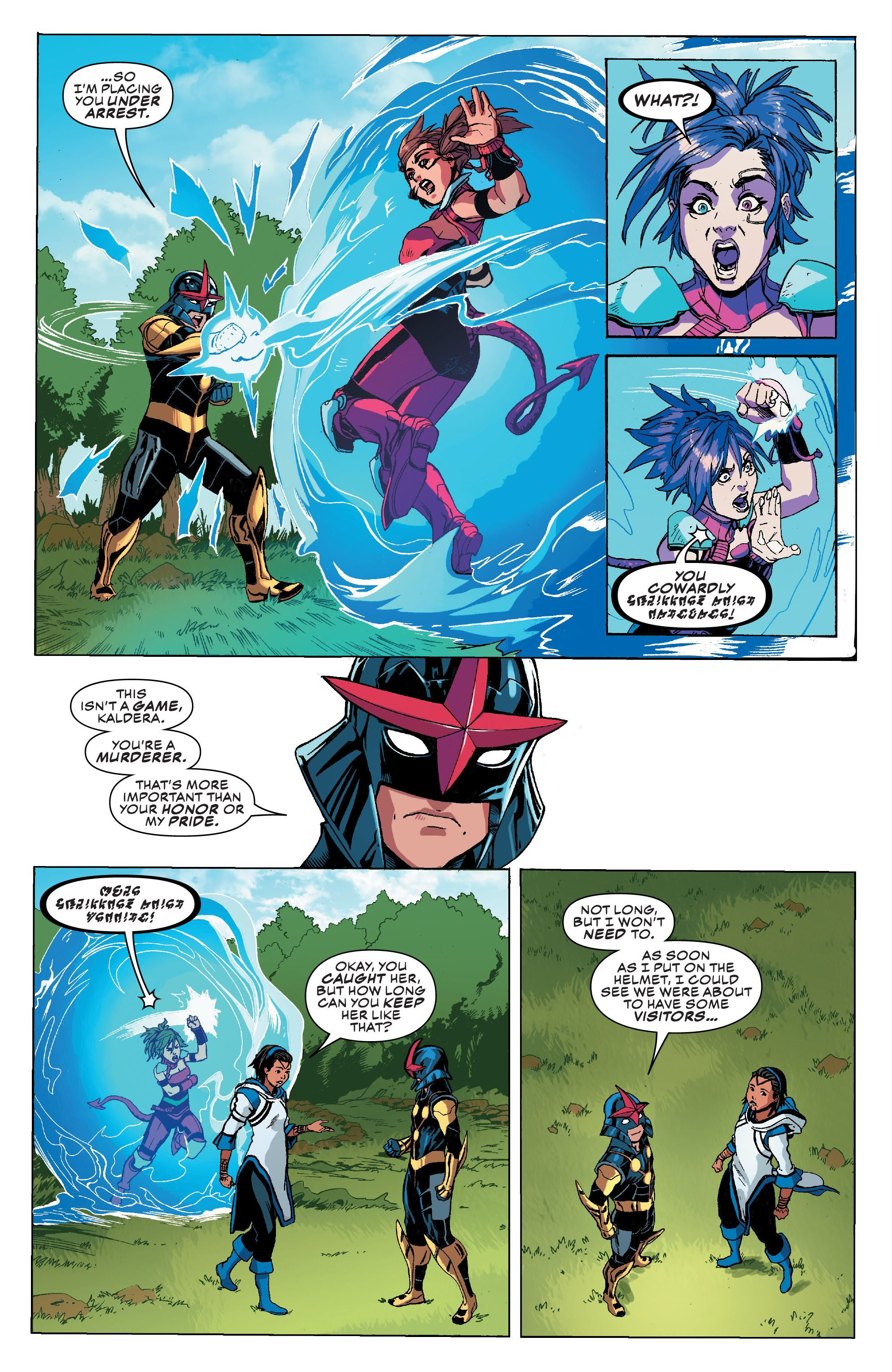 Read online Champions (2019) comic -  Issue #8 - 17