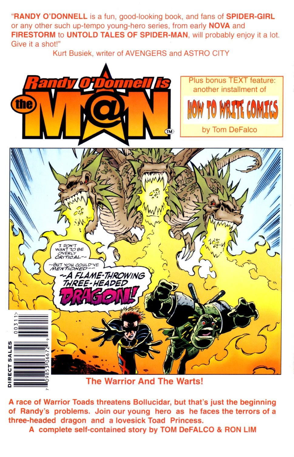 Read online Randy O'Donnell is The M@N comic -  Issue #3 - 31