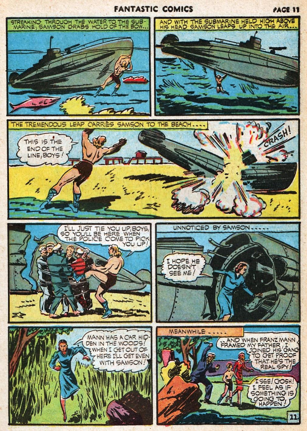 Read online Fantastic Comics comic -  Issue #20 - 12