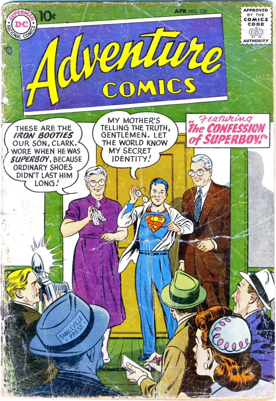 Read online Adventure Comics (1938) comic -  Issue #235 - 1