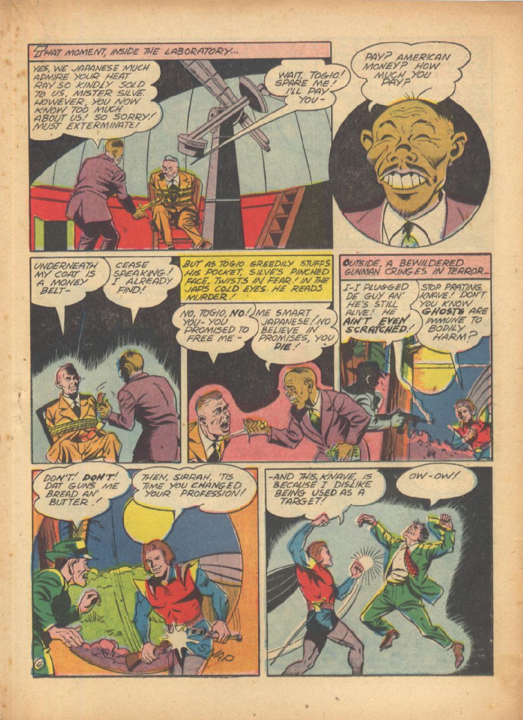 Read online Sensation (Mystery) Comics comic -  Issue #24 - 35