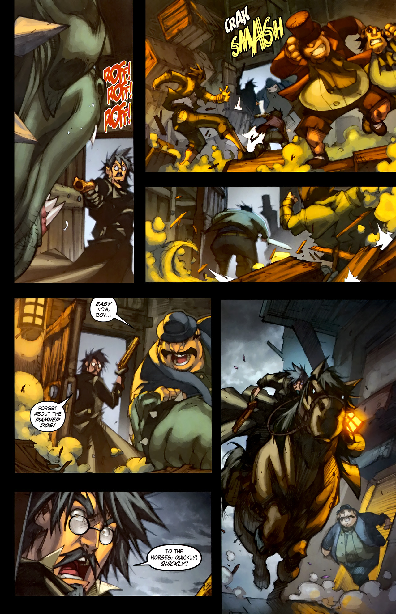 Read online World of Warcraft: Curse of the Worgen comic -  Issue #1 - 11