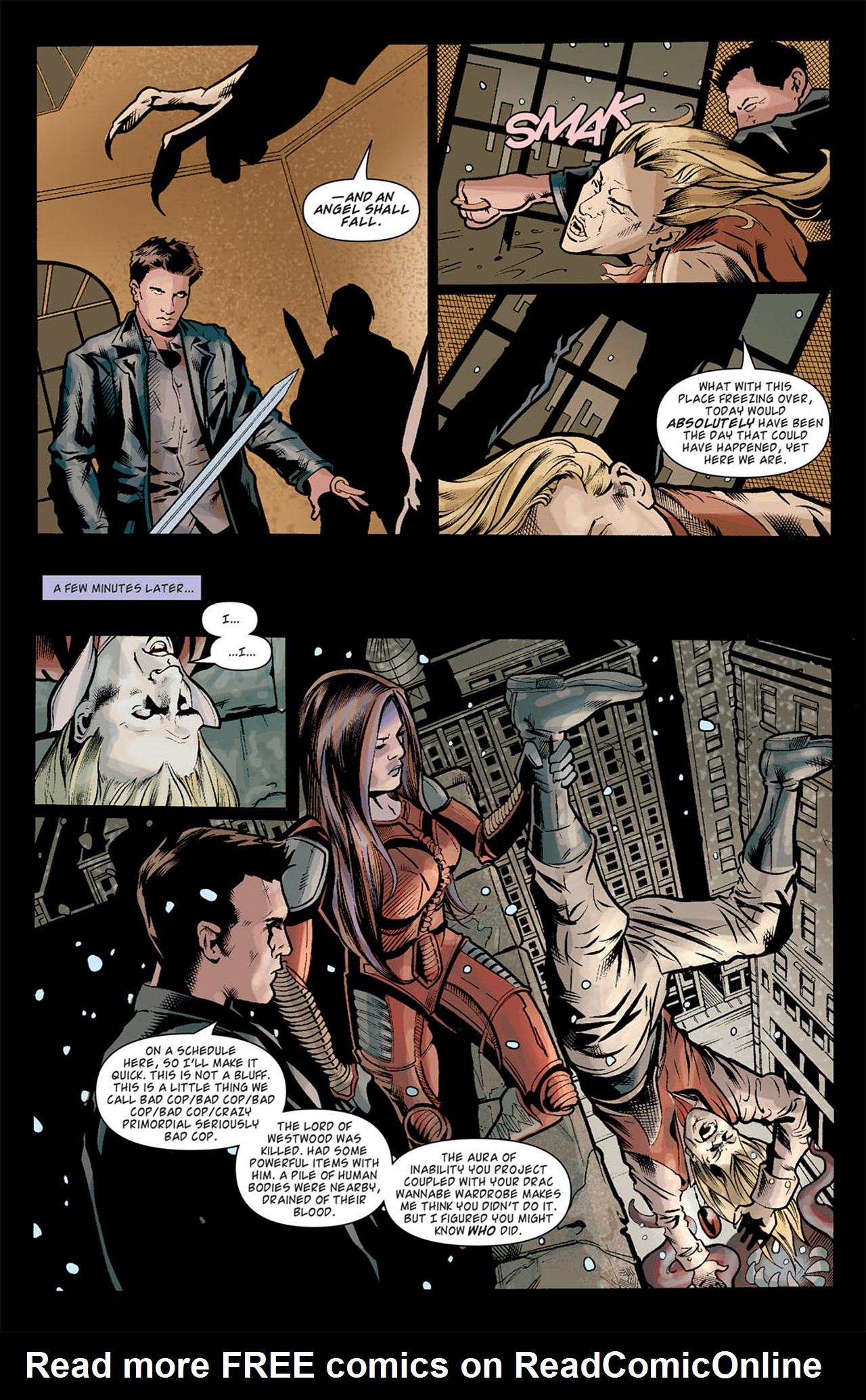 Read online Angel: After The Fall comic -  Issue #10 - 14