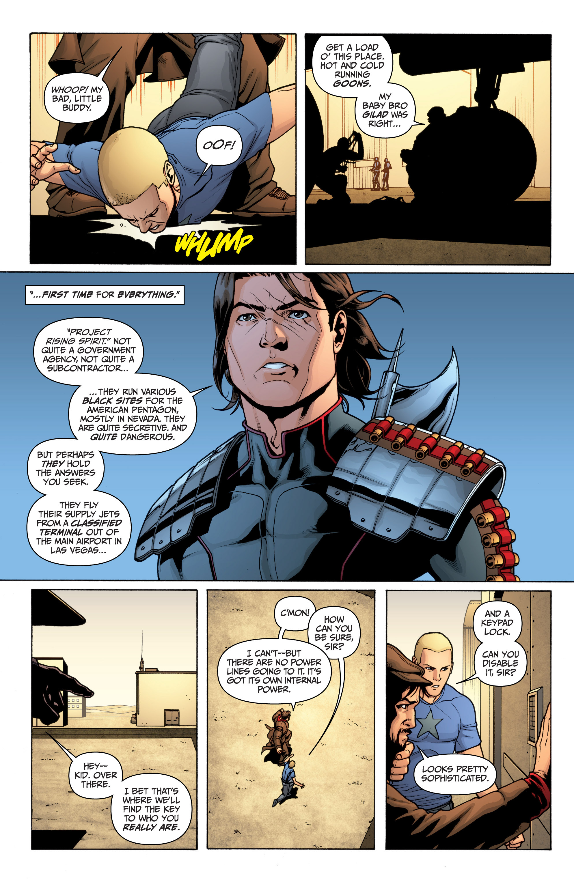 Read online Archer and Armstrong comic -  Issue #Archer and Armstrong _TPB 3 - 35