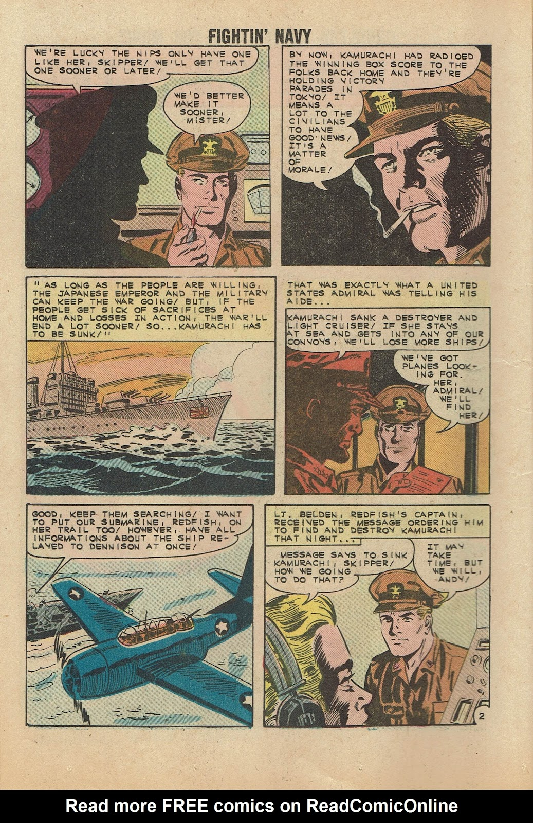 Read online Fightin' Navy comic -  Issue #104 - 12