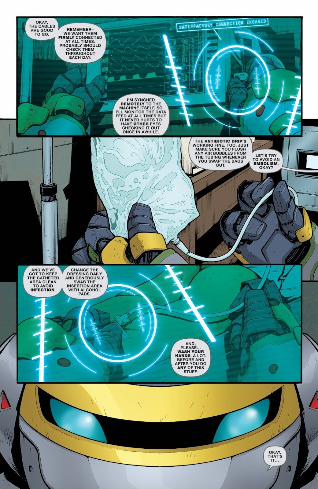 Read online Teenage Mutant Ninja Turtles: The IDW Collection comic -  Issue # TPB 6 (Part 2) - 25