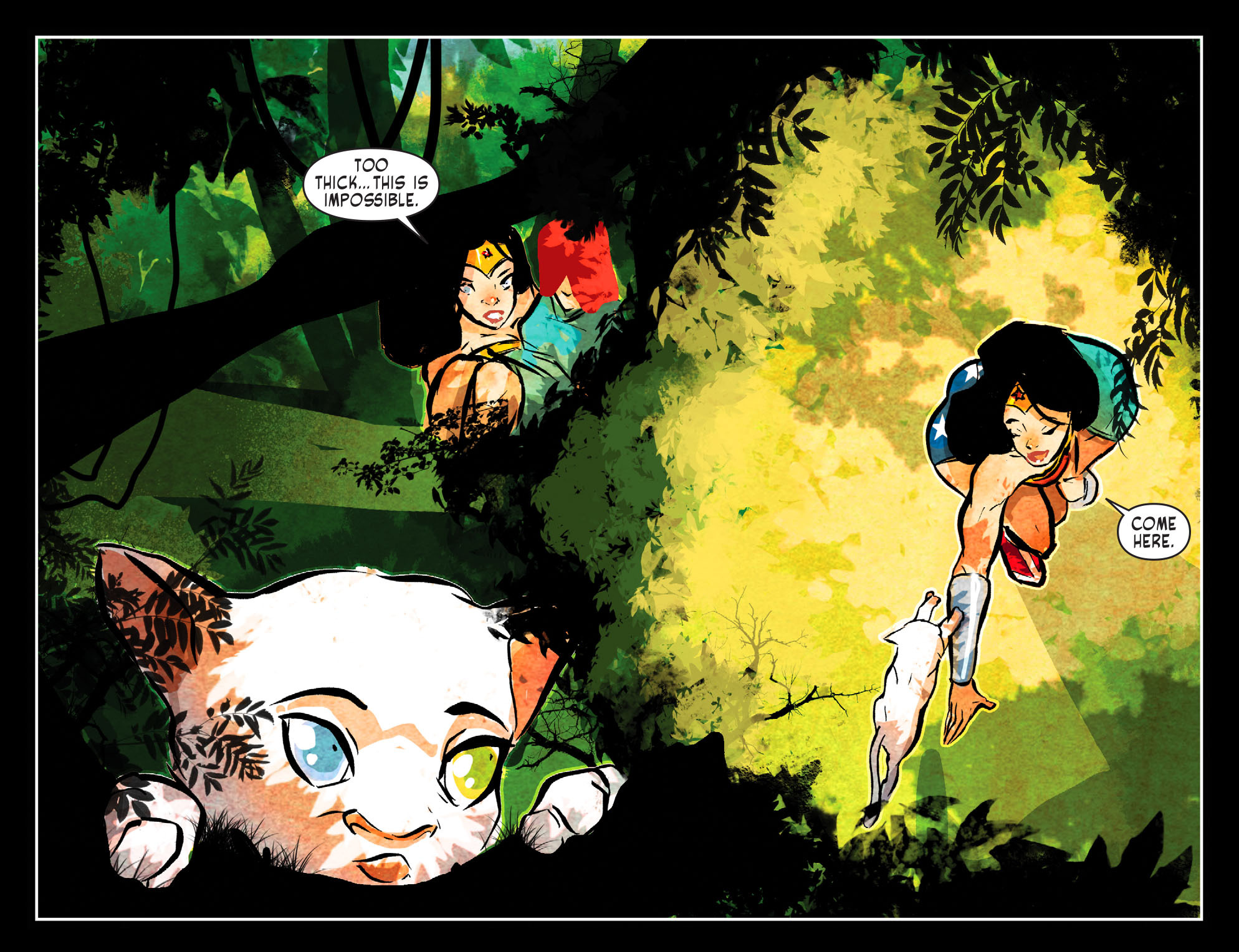 Read online Sensation Comics Featuring Wonder Woman comic -  Issue #51 - 6