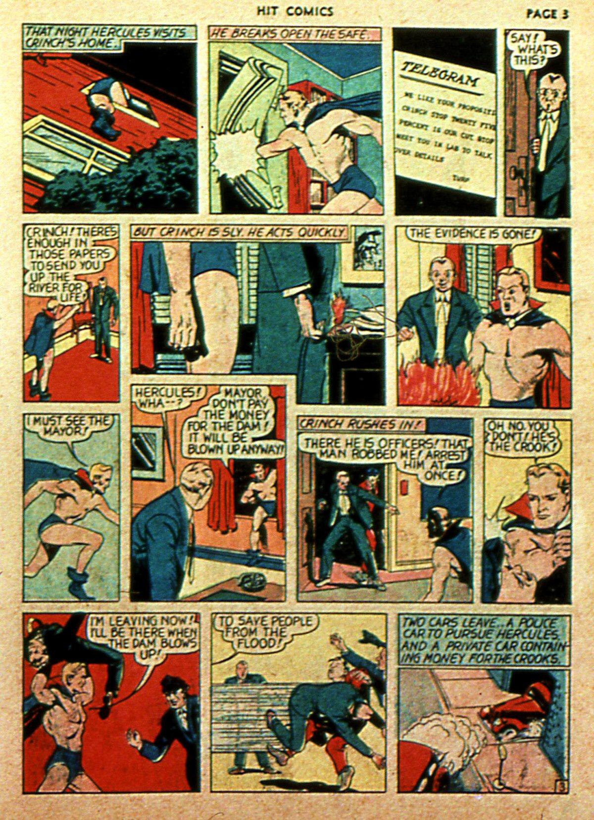 Read online Hit Comics comic -  Issue #2 - 5