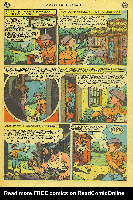 Read online Adventure Comics (1938) comic -  Issue #138 - 35