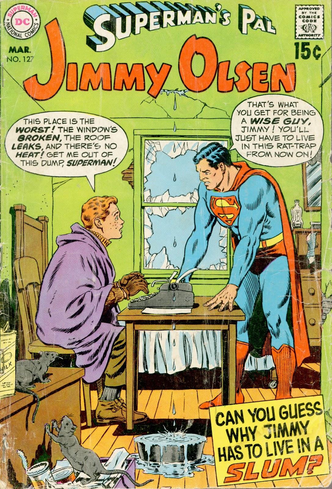Supermans Pal Jimmy Olsen (1954) 127 Page 1