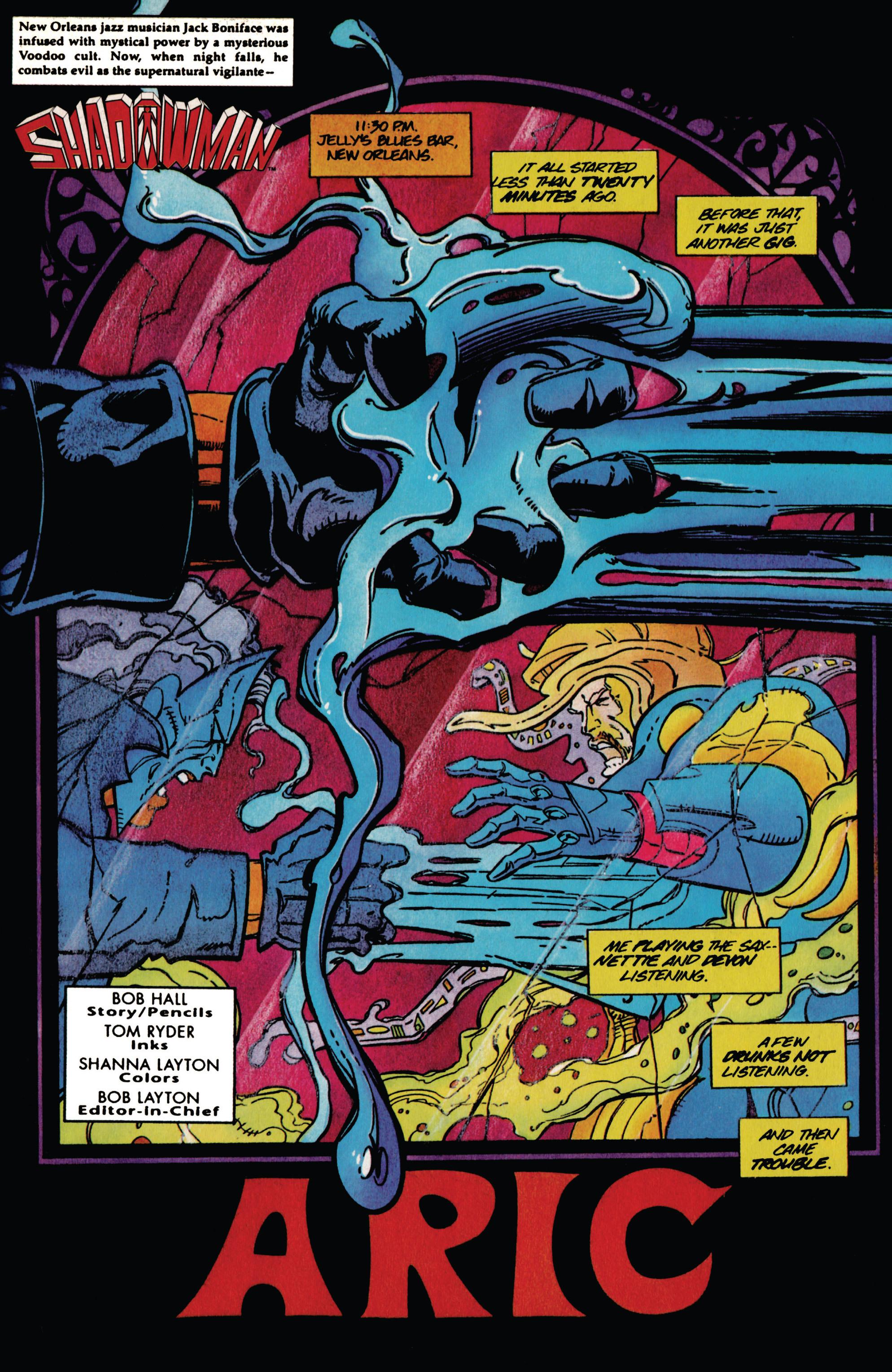 Read online Shadowman (1992) comic -  Issue #37 - 2